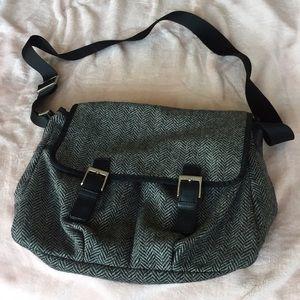 Herringbone Book Bag